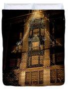 Macy's Ny Christmas Lights Duvet Cover