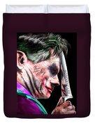 Mad Men Series 2 Of 6 - Romney The Joker Duvet Cover