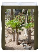 Madagascar Palms Duvet Cover