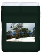 Madrone On Young Hill Duvet Cover