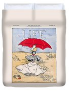 Magazine: Life, 1897 Duvet Cover