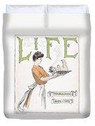 Magazine: Life, 1903 Duvet Cover