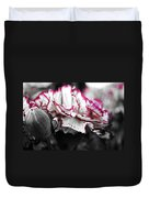 Magenta Carnation Duvet Cover