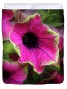 Magenta Petunia Duvet Cover