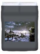 Magic Shrooms Duvet Cover