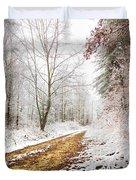 Magic Trail Duvet Cover by Debra and Dave Vanderlaan