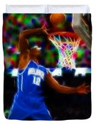 Magical Dwight Howard Duvet Cover by Paul Van Scott