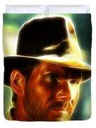 Magical Indiana Jones Duvet Cover