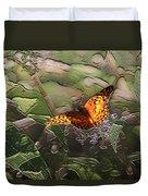 Magical Places For Butterflies Duvet Cover