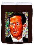 Magical Rick Santorum Duvet Cover