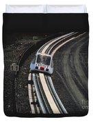 Maglev Train, Japan Duvet Cover