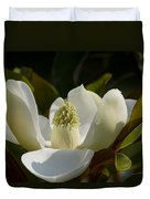 Magnificent Alabama Magnolia Blossom Duvet Cover