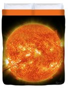 Magnificent Coronal Mass Ejection Duvet Cover