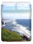 Magnificent Oregon Coast Duvet Cover