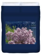 Magnolia By The Lake Duvet Cover
