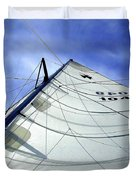Main Sail Duvet Cover