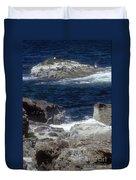 Maine Coast Surf Duvet Cover