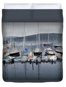 Maine Harbor Duvet Cover