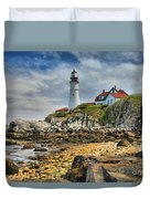 Maine Head Light Duvet Cover
