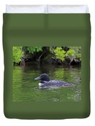 Majestic Loon Duvet Cover