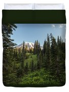 Majestic Rainier Duvet Cover