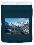 Majestic Rockies Duvet Cover