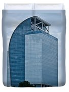 Majesty Building Duvet Cover