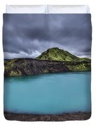 Majesty Of The Lake Duvet Cover