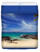 Makena Cove Maui Duvet Cover