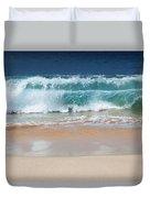 Makena Waves Duvet Cover