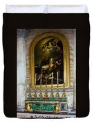 Malachite And Lapis Lazuli Altar Duvet Cover