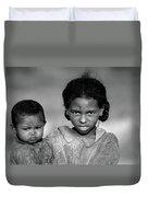Malagasy Children Duvet Cover