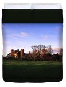 Malahide Castle, Co Fingal, Ireland Duvet Cover