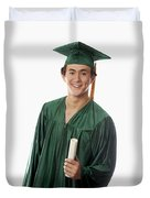 Male Graduate Duvet Cover
