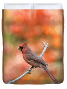 Male Northern Cardinal - D007810 Duvet Cover