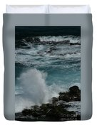 Maliko Point Maui Hawaii Duvet Cover