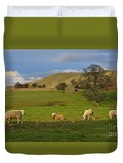 Mallerstang Dale In Cumbria Uk Duvet Cover