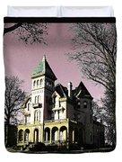 Mallory-neely Victorian Village Memphis Duvet Cover