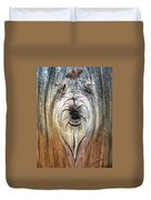 Briard Shepherd And Butterfly Duvet Cover