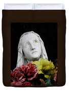 Mama Mary Duvet Cover