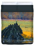 Mangrove Lookout Duvet Cover