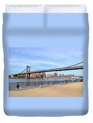 Manhattan Bridge1 Duvet Cover