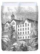 Manhattan College, 1868 Duvet Cover