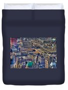 Manhattan Lincoln Tunnel Entrance Duvet Cover