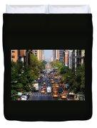 Manhattan Street Duvet Cover