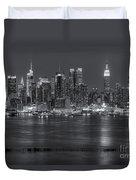 Manhattan Twilight Vii Duvet Cover