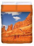 Manhatten In Utah Duvet Cover
