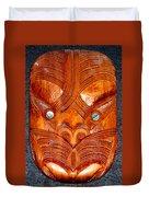Maori Mask One Duvet Cover