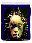 Maori Mask Two Duvet Cover