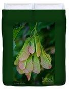 Maple Seed Duvet Cover